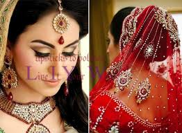 the north indian wedding hairstyles are mostly centered round the mang tikka decide a gorgeous ornament of your selection and wear it on your crown you