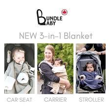 bundle baby 3 in 1 blanket car seat