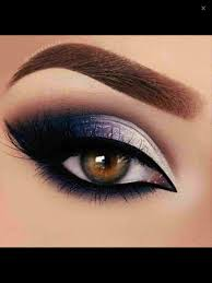 prom and rhca gold homeing makeup for blue eyes