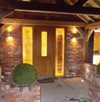front door lightsSecurity Lighting  AA Electrical Services