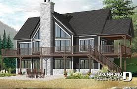 Single-Level House Plans w/o Garage from DrummondHousePlans.com