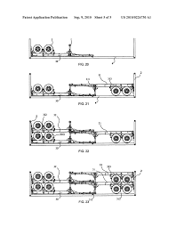 frame container and method of loading semi trailer chassis into a 53 foot trailer loading diagram frame container and method of loading semi trailer chassis into a frame container diagram, schematic, and image 06