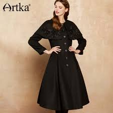 <b>Artka 2017 Autumn& Winter</b> 50% Wool Embroidery Dispatch able ...