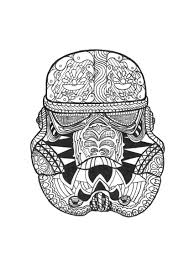 coloring page zen stormtrooper a stormtrooper s hamlet in a zen style ready to fight