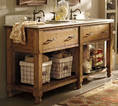 Impressive Country Bathroom Double Vanities Vanity U Throughout Modern Ideas
