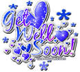 get well soon bubble writing