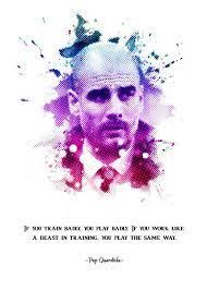 'Josep Pep Guardiola ' Poster by Muhammad Irsan