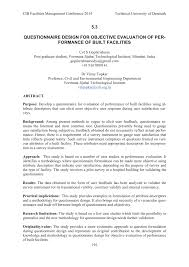 Considerations When Designing A Questionnaire Pdf Questionnaire Design For Objective Evaluation Of