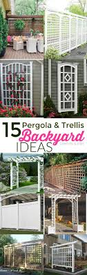 Patio Privacy Fence Best 25 Outdoor Privacy Ideas On Pinterest Privacy Shades