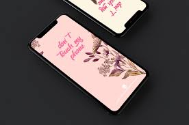 Don't Touch My Phone Flower Wallpapers ...