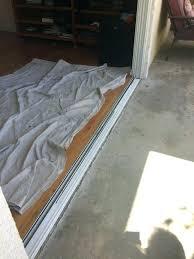 pella sliding glass door adjustment