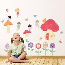 fairy garden children s wall stickers