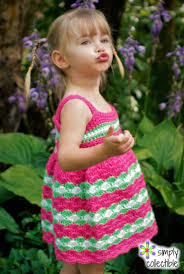 Dress Patterns For Toddlers Gorgeous 48 Gorgeous Crochet Dress Patterns For Girls And Babies Simply
