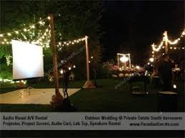 Projector Rental Vancouver BC Audio Video SolutionDecor Vancouver Gobo Projector Rental Vancouver