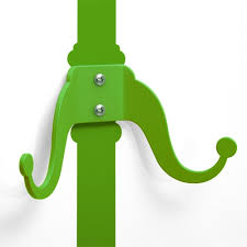 Symbol Coat Rack Green Coat Rack Wall Decal Animi Causa Boutique 99
