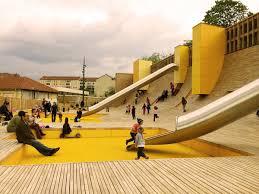 Modern Playground Design Lyon Playground Base 11 Landscape Architecture Works
