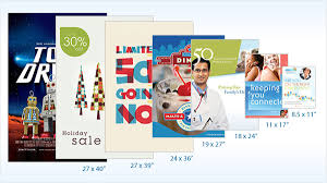 standard size posters standard poster sizes for printing design uprinting com