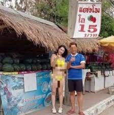 หันมองคอแทบเคล็ด ร้านแตงโมลงทุน จ้างพริตตี้สาวสวยเรียก