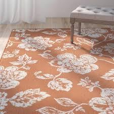 orange and white rug orange white indoor outdoor area rug orange and white chevron rug