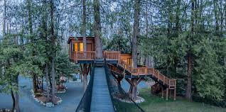 tree house plans for one tree. Today We\u0027re Not Looking At A House, Well Quite. This Home In Courtney, BC Has One Incredible Feature That I Have Seen Done As Nice Anywhere Else Tree House Plans For