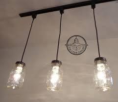 Hanging Track Lighting Beautiful Mason Jar Pendant New Quart  Chandelier Light Design For Home Interiors