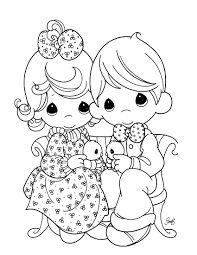 free precious moments coloring pages. Plain Coloring Precious Moments Baby Coloring Pages  Free To S