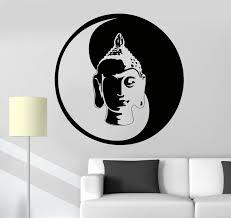 Small Picture Online Get Cheap Buddha Zen Wall Decals Aliexpresscom Alibaba