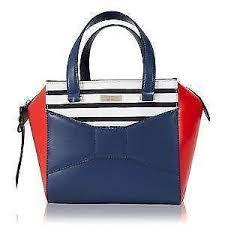 Kate Spade Handbag - Leather, Quilted, Black, Pink | eBay & Kate Spade Bow Handbags Adamdwight.com