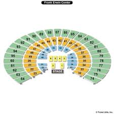 55 Meticulous Frank Erwin Events Center Seating Chart