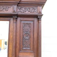 french antique hand carved armoire. French Antique Hand Carved Armoire Wardrobe Furniture A