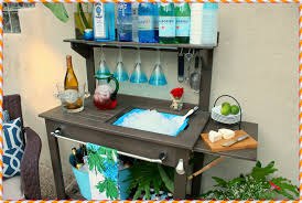 Potting Bench Plans Potting Bench With Sink Home Decorations Ideas