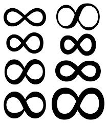 infinity symbol  infinity symbol