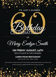 Tips Special 60th Birthday Invitations For Your Special Day