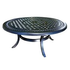 patio side table with umbrella hole kitchen alluring round patio coffee table tables wicker outdoor small
