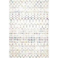 moroccan pattern rug outdoor n