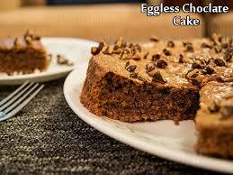 Eggless Chocolate Cake Recipe How To Prepare Eggless Chocolate Cake