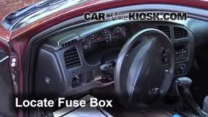Fuse Interior Part 1 interior fuse box location 2000 2005 chevrolet monte carlo 2001 on 2001 chevy monte carlo fuse box location