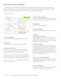 Fedex Air Waybill Form Fill Online Printable Fillable Blank