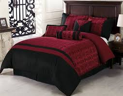 black and red duvet cover sets