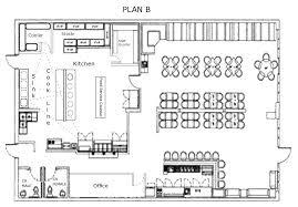 sample floor plan for bar restaurant