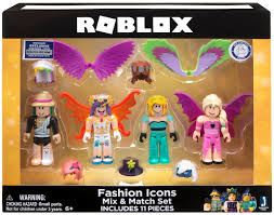How To Create Items In Roblox Roblox Celebrity Collection Fashion Icons Action Figure 4 Pack