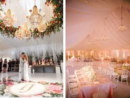 chandeliers are probably the most traditional method of ceiling decoration for luxurious weddings hanging chandeliers with accents like ds