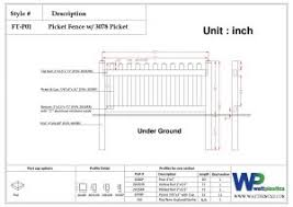 picket fence drawing. Simply Click The Below Images To Enlarge Pictures Or Speak Us  About Any Of Our Picket Fence Products, Don\u0027t Hesitate Contact By Calling Drawing