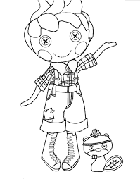Lalaloopsy Coloring Pages Rawesome Co