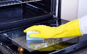 how to clean your oven glass door