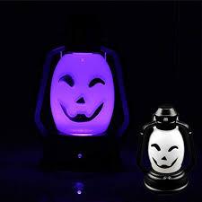 WELSUN <b>Halloween Pumpkin Skull</b> LED Lights Portable Hanging ...