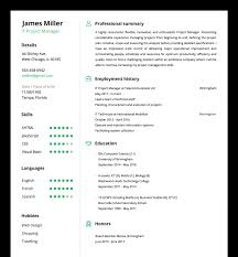 Resumes Build My Resume Online And Print For Free Download Where