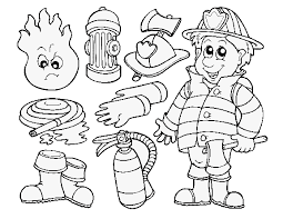 Small Picture Firefighter Coloring Books Images Bebo Pandco