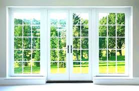 replace sliding glass door with french doors sliding glass door cost with installation cost to replace