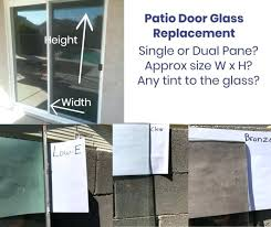 patio door glass replacement patio door glass replacement cost uk